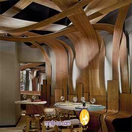 طراحی دکوراسیون داخلی با چوب پادوک (Padauk Wood)