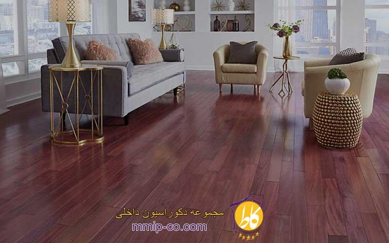 طراحی دکوراسیون داخلی با چوب پرپل هارت (Purple Heart Wood)