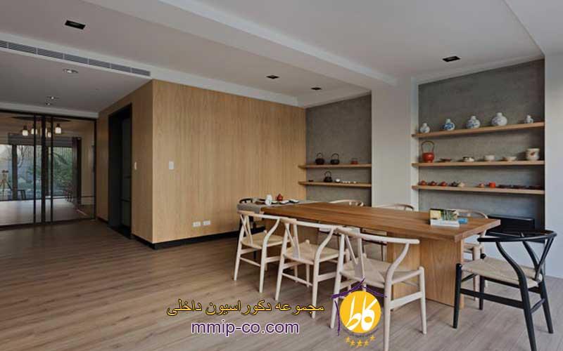 طراحی دکوراسیون داخلی با چوب افرا (Maple Wood)