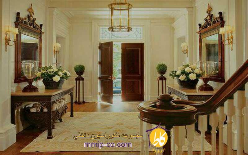 فضای ورودی خانه در طراحی داخلی