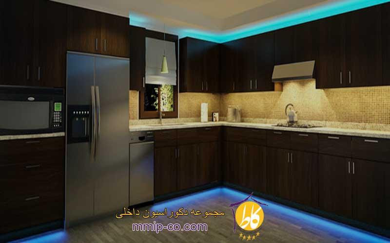 نکات تاثیرگذار در نورپردازی آشپزخانه