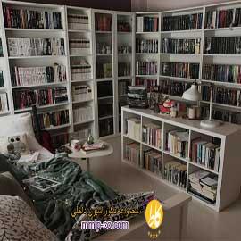 ۳ ایده برای اضافه کردن یک کتابخانه به خانه شما