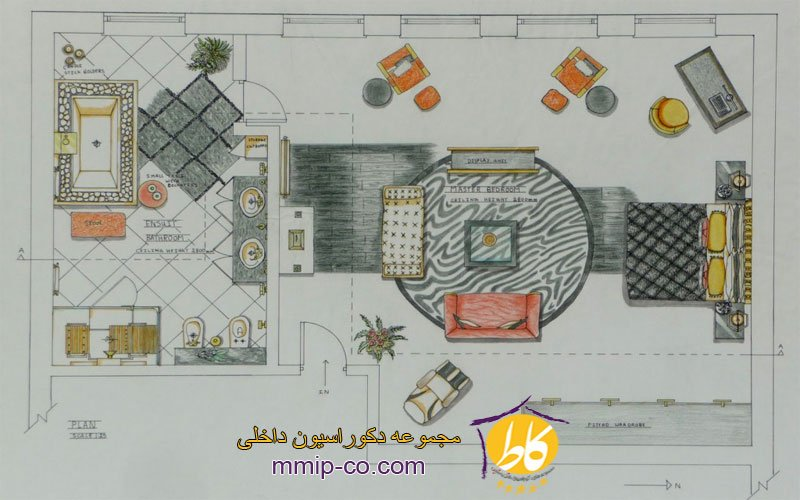 اهمیت برنامه ریزی فضایی در طراحی داخلی