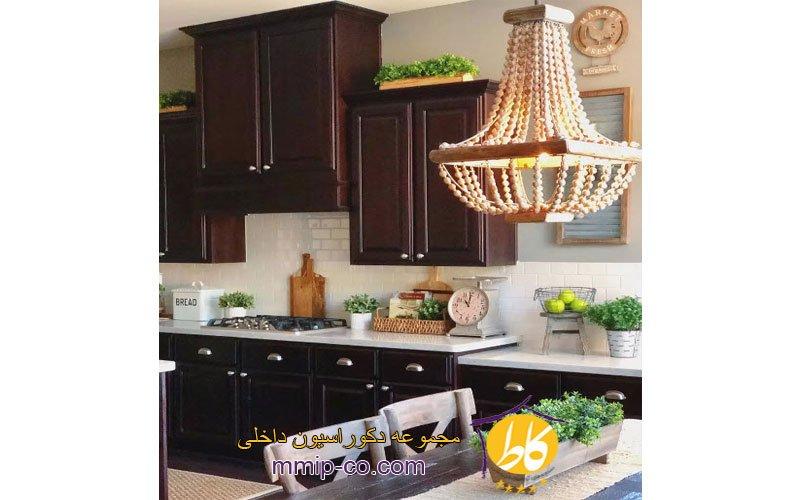 5 راه جدید برای تزئین بالای کابینت های آشپزخانه