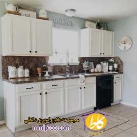 ۵ راه جدید برای تزئین بالای کابینت های آشپزخانه