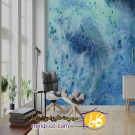۴ ایده برای کاغذ دیواری روشن در طراحی داخلی