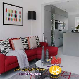 ۶ ایده برای استفاده از رنگ های گرم در طراحی داخلی