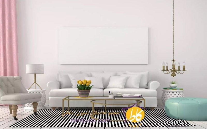 5 ایده جالب برای روشنایی اتاق نشیمن