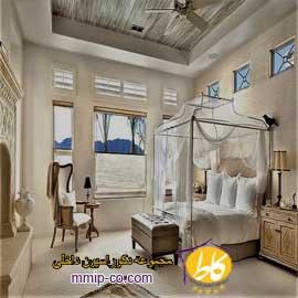 ایده های تزئین مدیترانه ای برای اتاق خواب