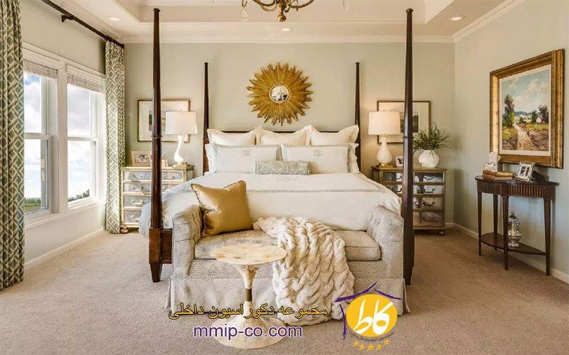 5 ایده جالب برای طراحی داخلی اتاق خواب مستر