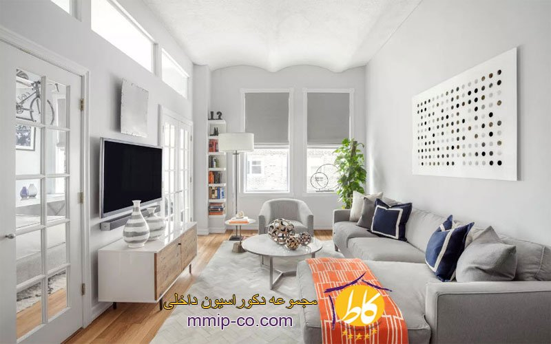 4 ایده برای تزئین اتاق نشیمن کوچک