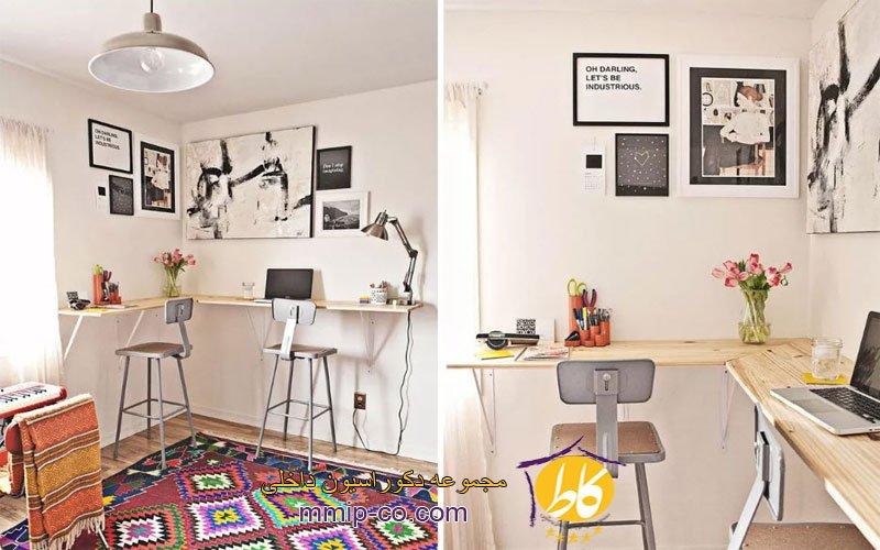 7 روش برای ایجاد یک دفتر کار خانگی شیک و کوچک