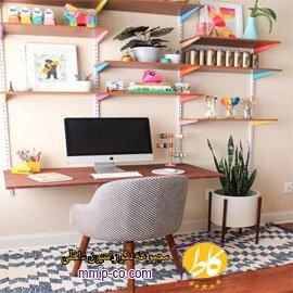 ۷ روش برای ایجاد یک دفتر کار خانگی شیک و کوچک