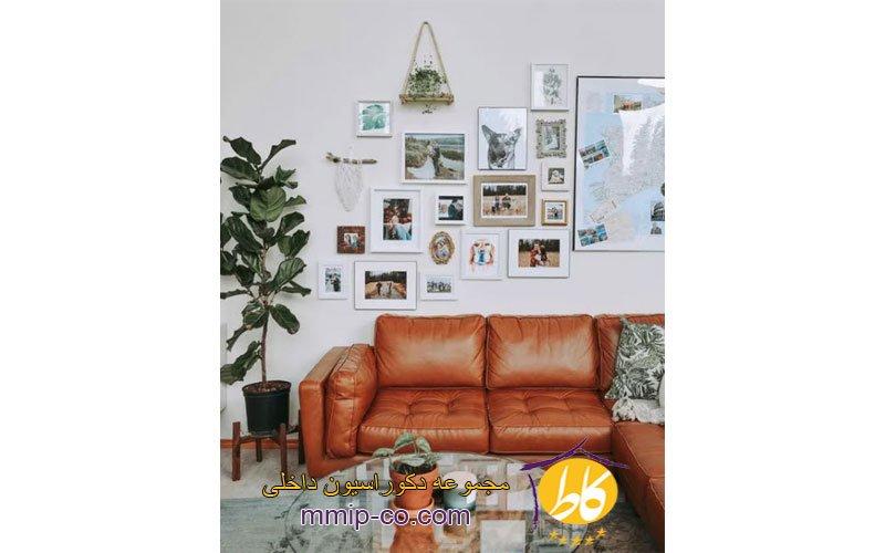 5 ایده عالی برای طراحی دیوارهای گالری