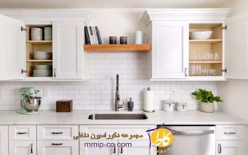 نحوه چیدمان کابینت آشپزخانه