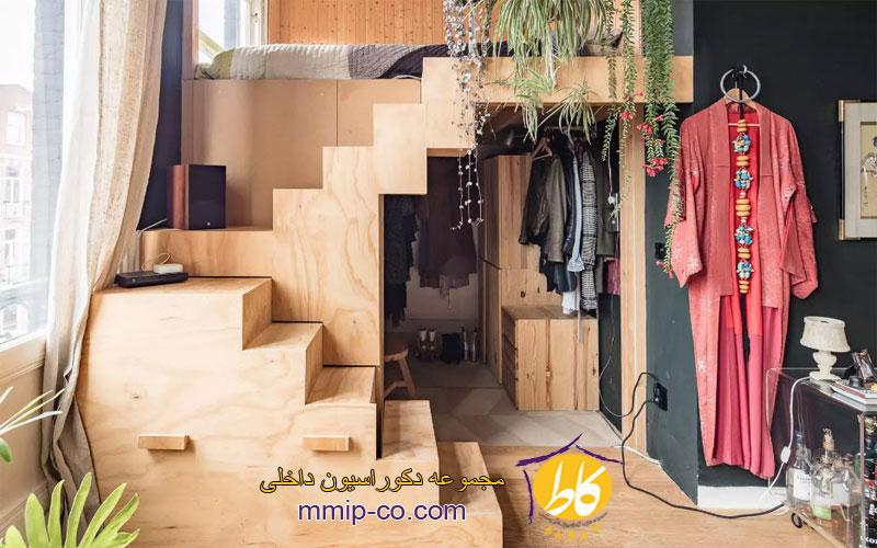 6 ایده برای استفاده از تختخواب سفارشی در فضاهای کوچک