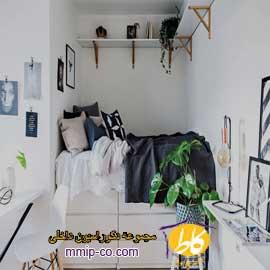 ۶ ایده برای استفاده از تختخواب سفارشی در فضاهای کوچک