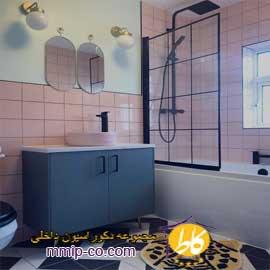 ۵ ایده جالب برای طراحی کاشی حمام