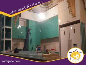 کابینت هایگلاس کرمان