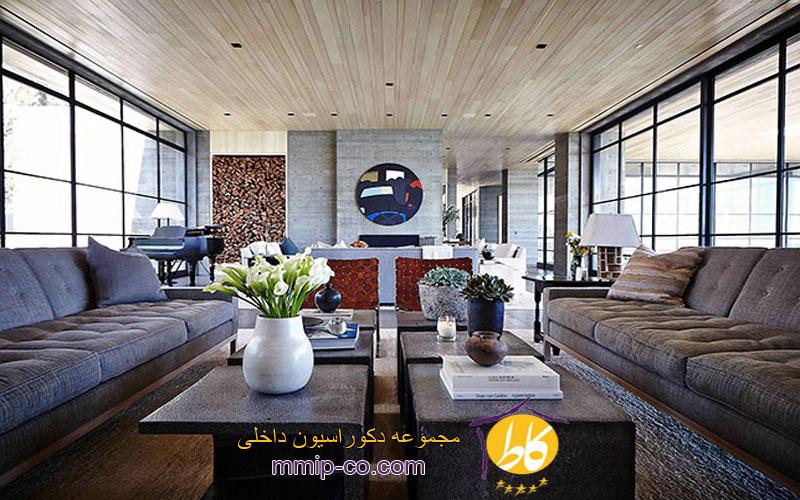 سبک مدرن کانتری در طراحی داخلی
