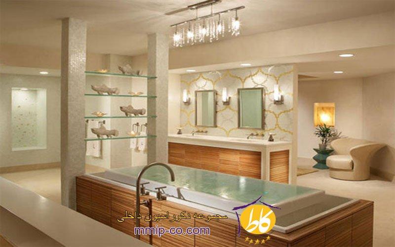 15 ایده لوکس طراحی حمام مستر
