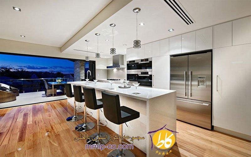 10 طرح چشم نواز از آشپزخانه سفید