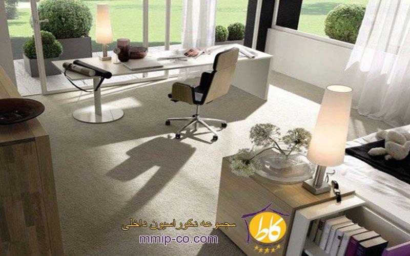 15 ایده جالب از طراحی داخلی دفاتر کار خانگی