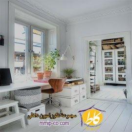 ۱۵ ایده جالب از طراحی داخلی دفاتر کار خانگی