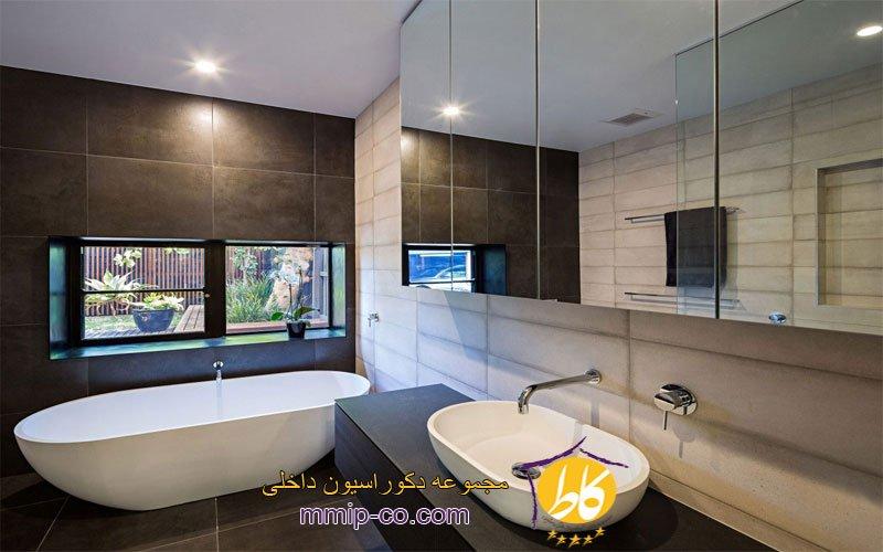 10 ایده متفاوت از طراحی داخلی حمام