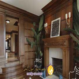 طراحی دکوراسیون داخلی با چوب گردو (Walnut Wood)