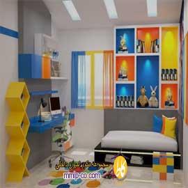 طراحی اتاق کودک را به صورت جذاب انجام دهیم