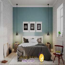 ۳ ایده جالب در طراحی داخلی برای به وجود آوردن فضای دیوار پشت تخت