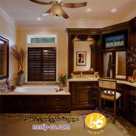 ۱۵ ایده لوکس طراحی حمام مستر
