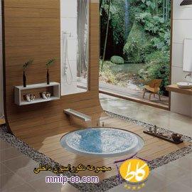 طراحی حمام به سبک ژاپنی